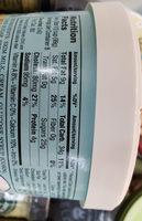 Trader Joe's Salted Caramel Gelato - Informations nutritionnelles