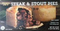 Steak & Stout Pies - Product - en