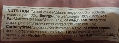 4 All Butter Muffins - Nutrition facts