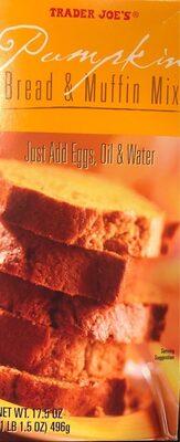 Pumpkin Bread & Muffin Mix - Product - en