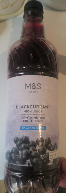 Blackcurrant High Juice - Produit