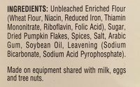 Pancake Mix - Ingredients