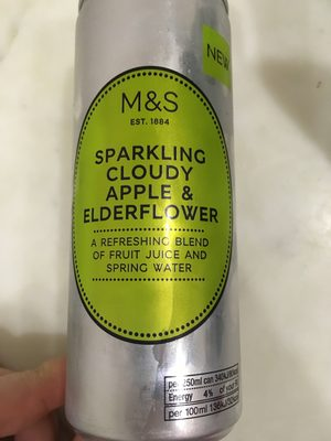 Sparkling cloudy Apple & Elderflower - Product