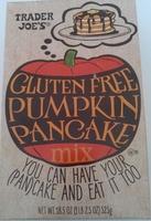 Gluten free pumpkin pancake mix - Product - fr