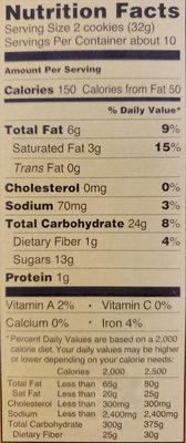 Pumpkin Joe-Joe's - Nutrition facts