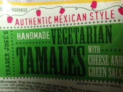 Trader Joe's Handmade Vegetarian Tamales - Product