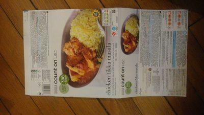 Chicken tikka masala with spiced basmati rice - Product