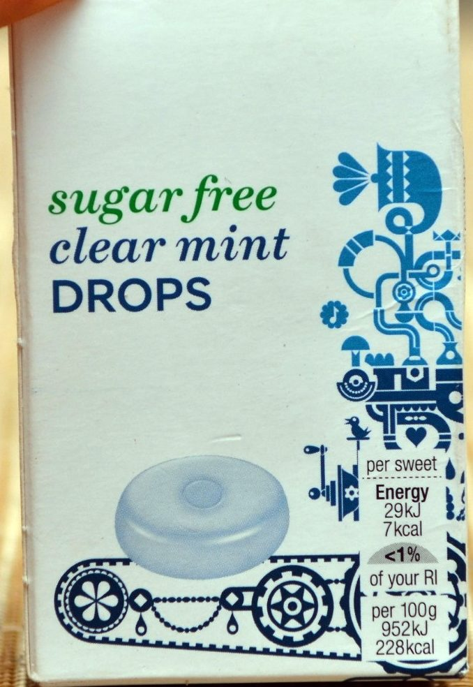 Sugar Free Clear Mints - Product