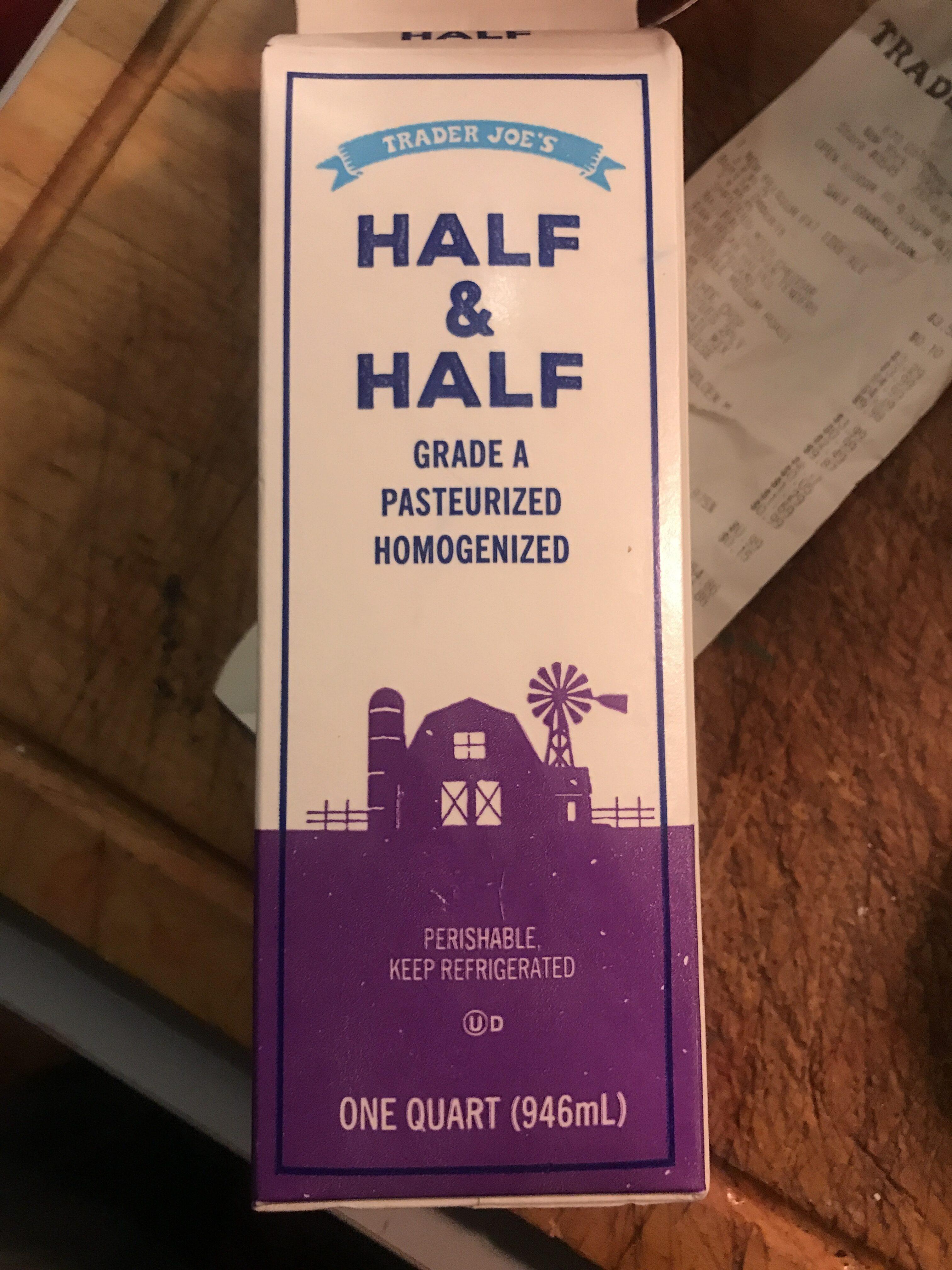 Half & Half - Product - en