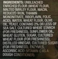 Pizza crust - Ingredients