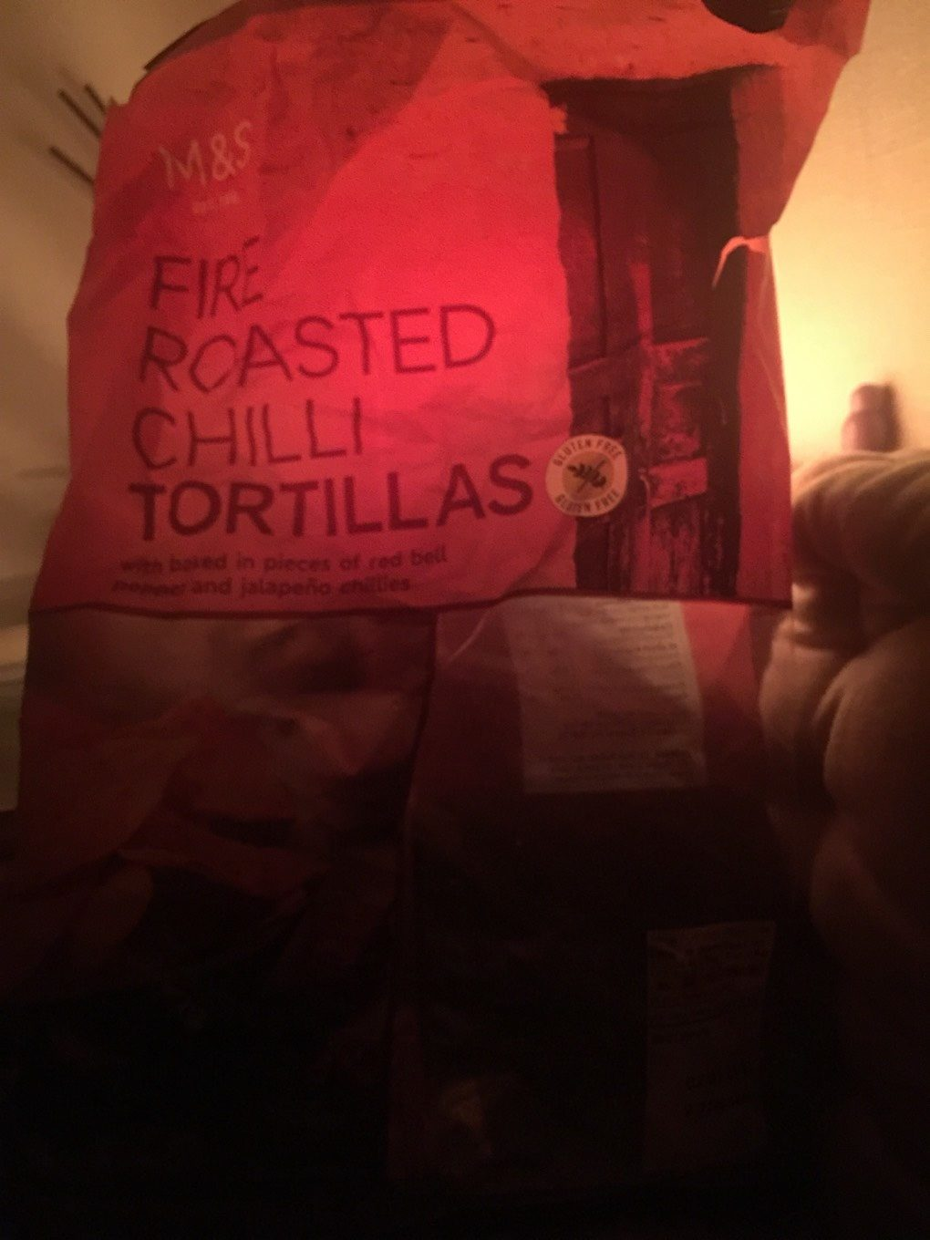 Fire roasted chili tortilla - Product