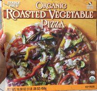 Organic roasted vegetable pizza - Produit - en