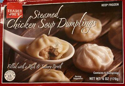 Chicken soup dumplings - Product - en