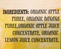 Fruit sauce crushers - Ingredients