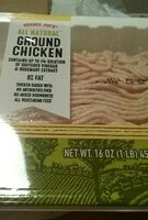 All natural ground chicken - Product - en