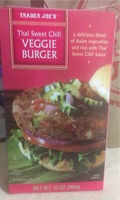 Thai sweet chili veggie burger - Product - en