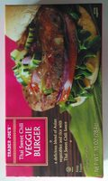 Thai Sweet Chili Veggie Burger - Product