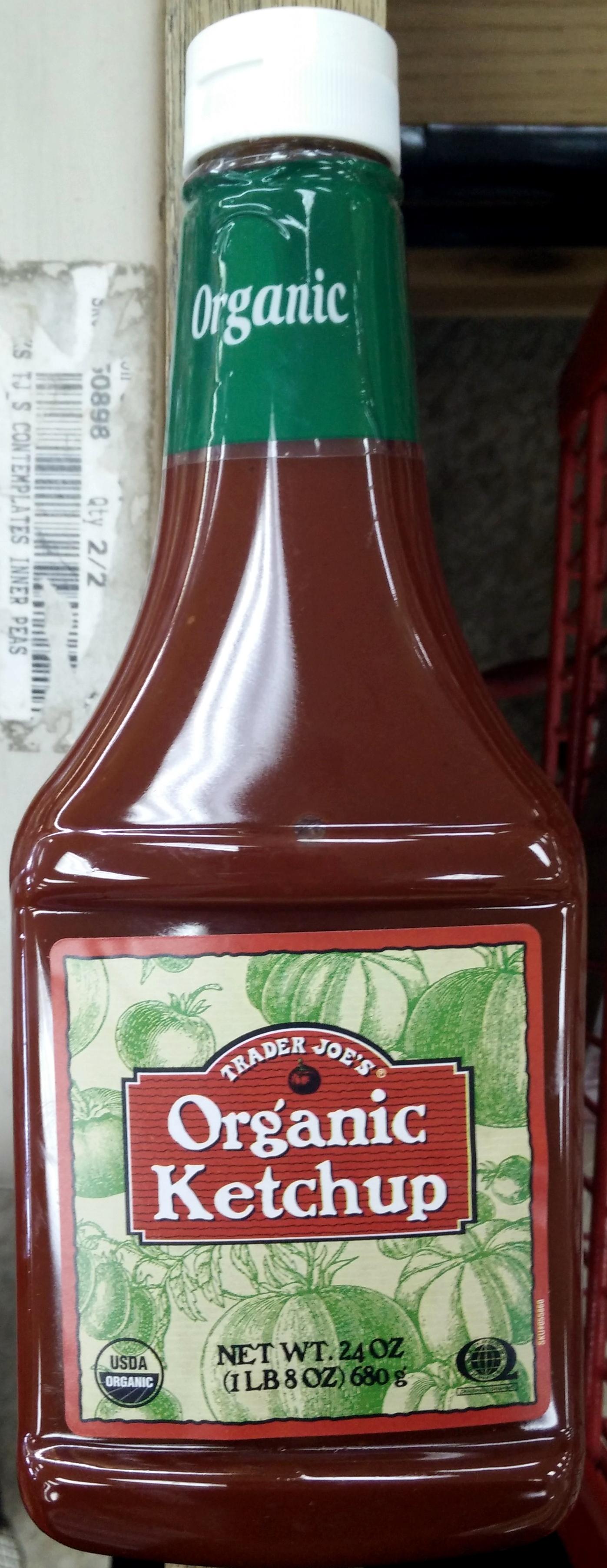 Organic Ketchup - Product