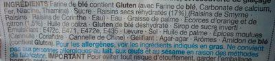 Iced & Spiced Soft Bun - Ingredients - fr