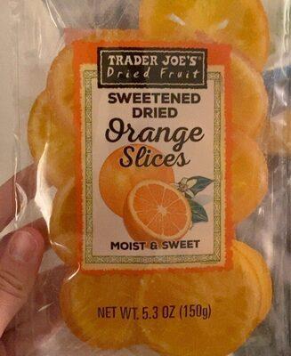 Sweetened Dried Orange Sliced - Produit - en