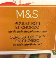 Sandwich Poulet Rôti et Chorizo - Product - fr