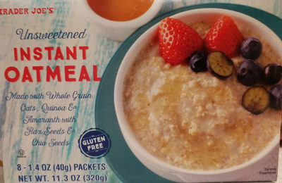 Instant Oatmeal - Product