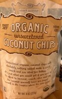 Organic unsweeten coconut chips - Product