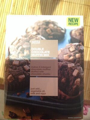 Double Chocolate Muffin Mix - Product - en