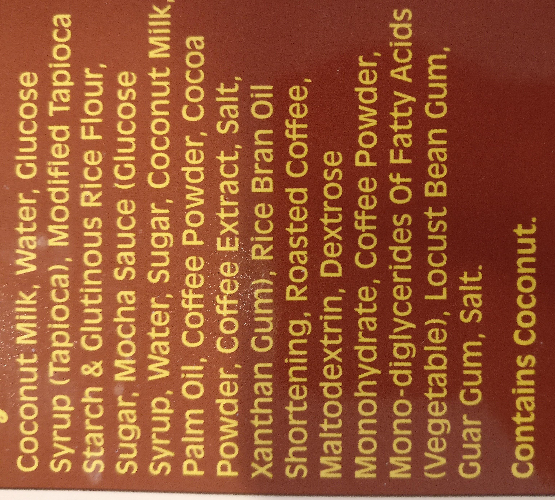Coffee Mochi - Ingredients - en