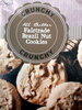 All Butter Fairtrade Brazil Nut Cookies - Product
