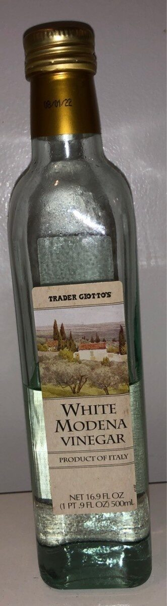 Trader giotto's, white modena vinegar - Product - en