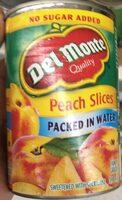 Peach slices - Produit - fr