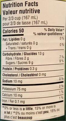 Pear Halves - Informations nutritionnelles - fr