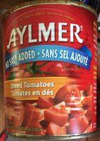 Tomates en dés - Sans sel ajouté - Product - fr