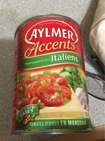 Tomates (italiennes) - Produit