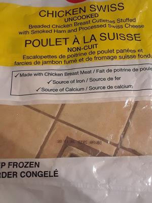 poulet à la suisse - Produit - fr