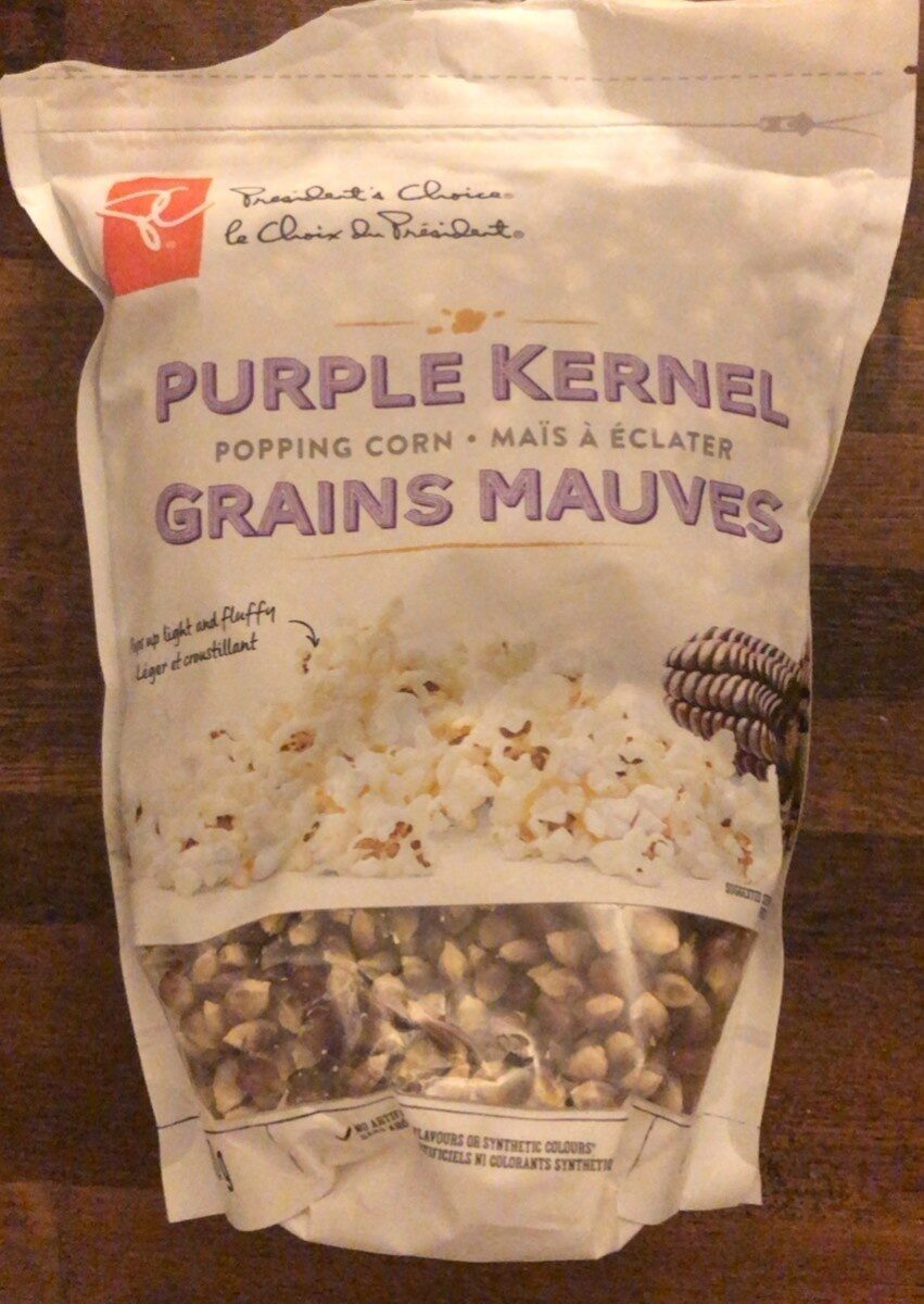 Maïs à éclater Grains Mauves - Product - en