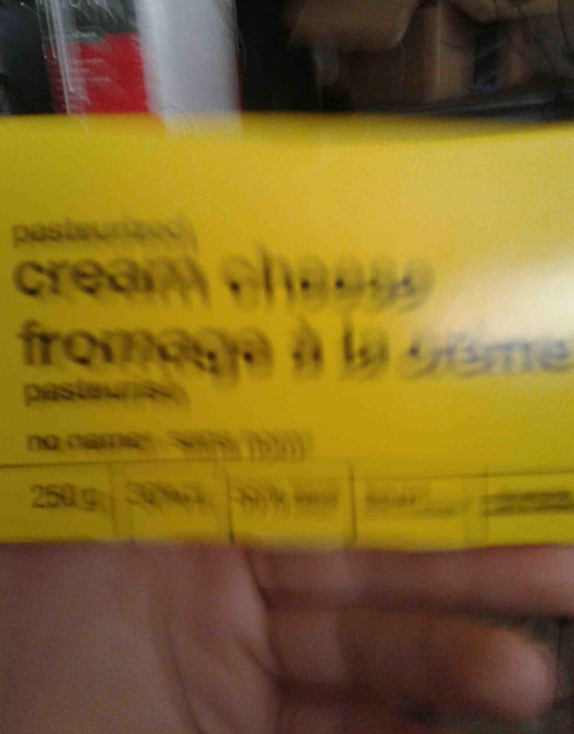 fromage à la crème - Produit - en