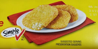Potato patties - Produit - en