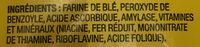 Farine tout-usage - Ingrediënten - fr