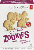 Zookies animal crackers - Product - fr