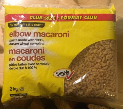 Elbow Macaroni ( Club Pack ) - Produit - en