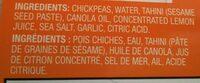Hummus - Ingredients - en