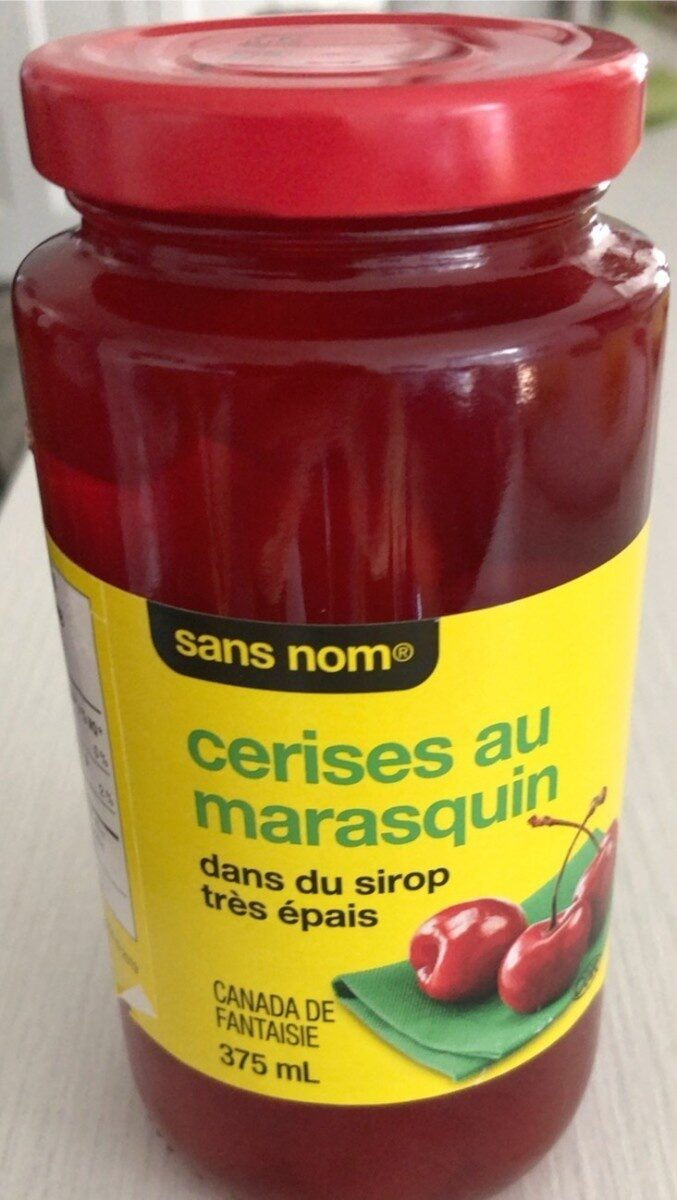 Cerises au marasquin - Product - fr