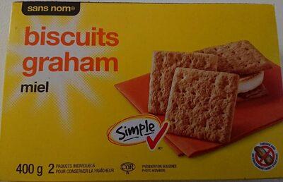 biscuits graham miel - Product - en