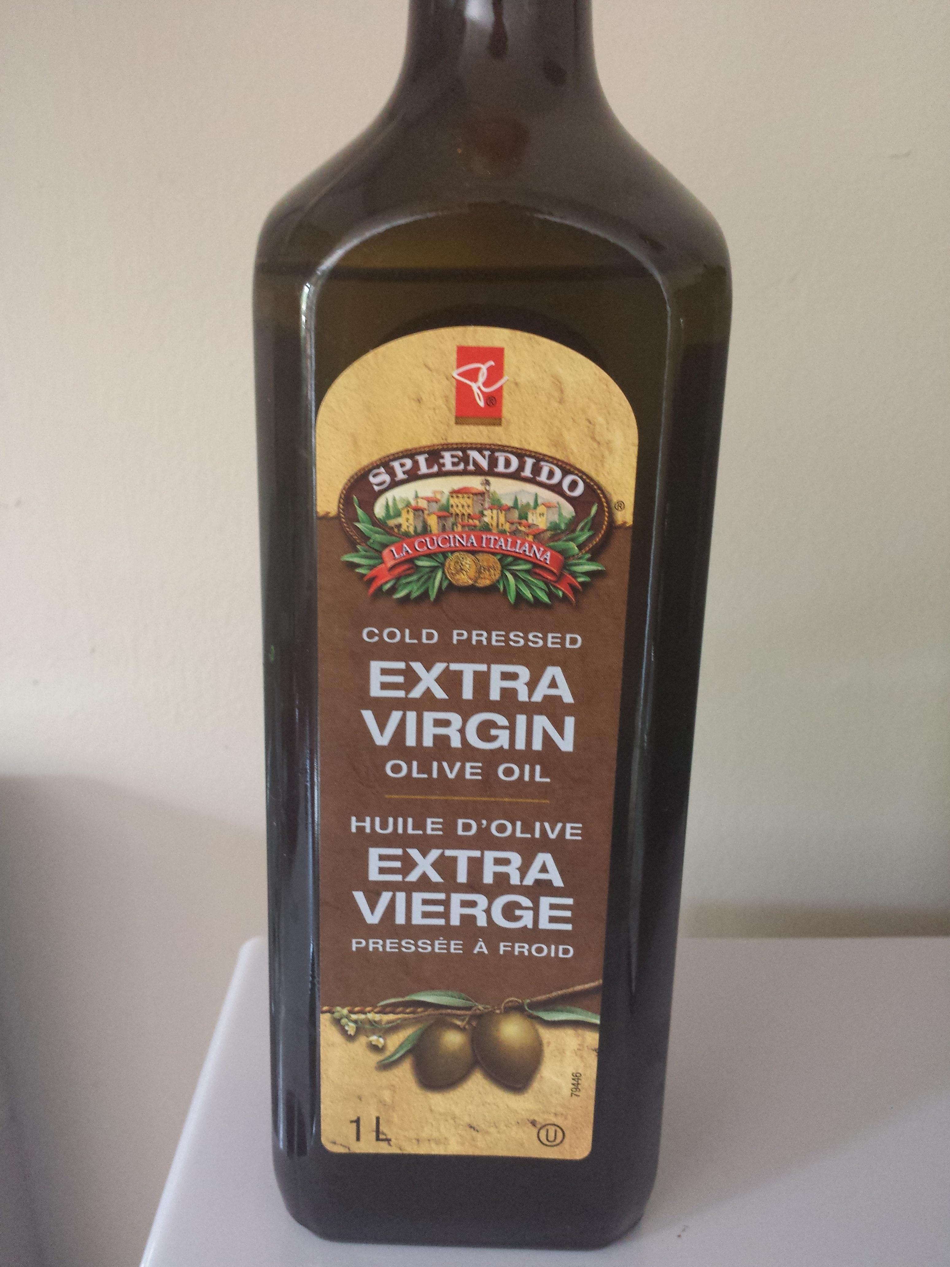 Splendido cold-pressed extra virgin olive oil - Produit