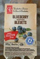Muffins bleuets - Produit - fr