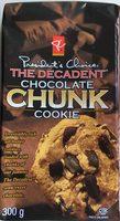 Biscuits Aux Gros Morceaux De Chocolat Le Décadent PC - Produit - en