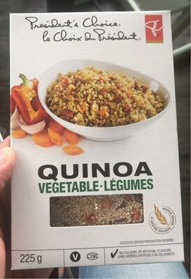 Quinoa - Vegetables. Legumes - Produit - en