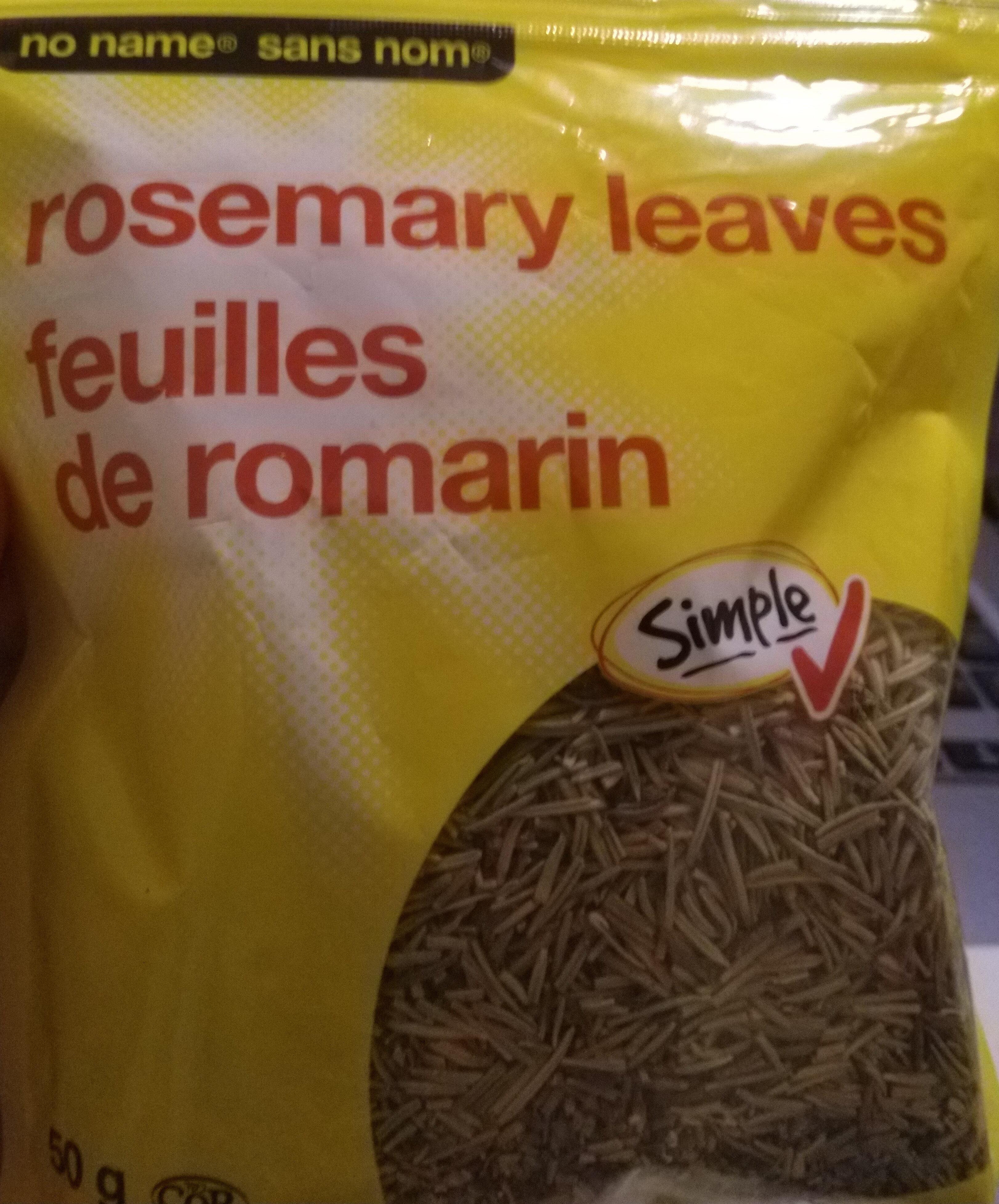 Rosemary leaves - Product - en